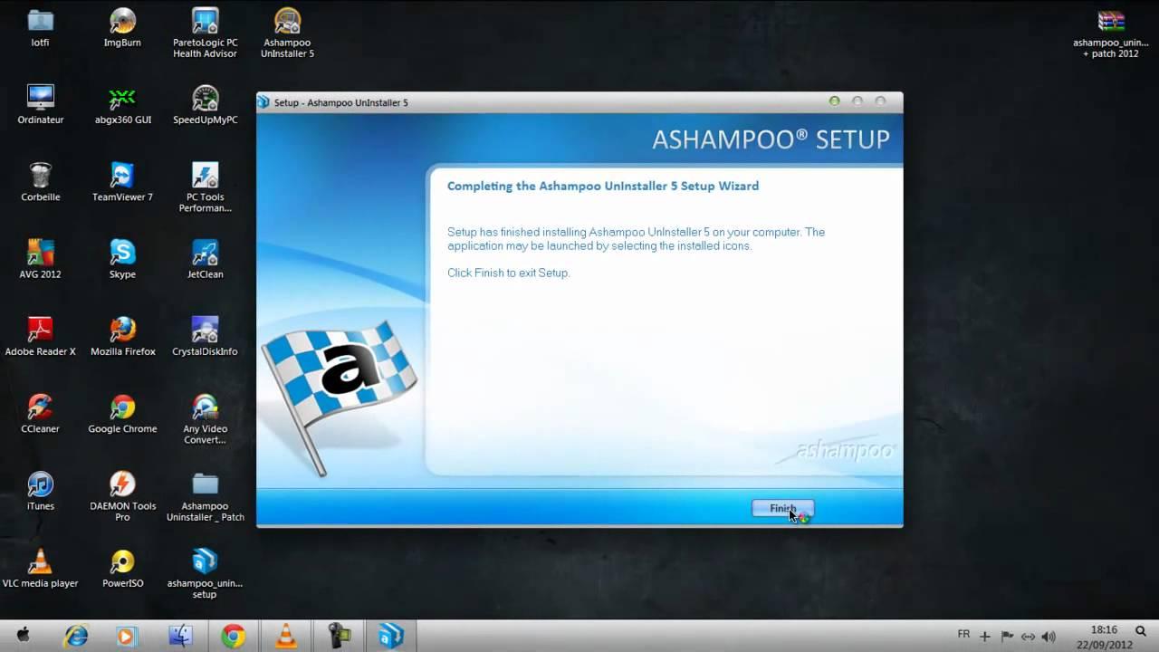 Ashampoo UnInstaller 5 + Patch _ 2012 [100% working] - YouTube