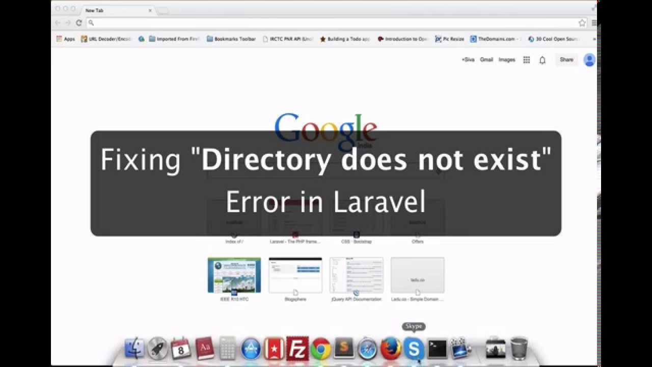 """[Solved] Fix """"Directory does not exist"""" error in Laravel ..."""