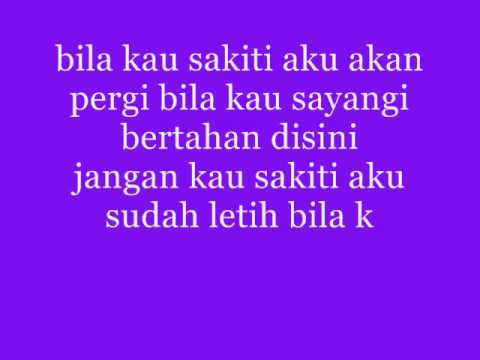 the titans~jangan sakiti with lyric