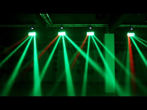 Flex Beam K8 RGBW - Best DJ Light