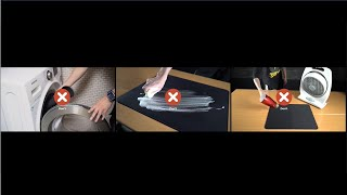 How to Clean ZOẄIE Mousepads