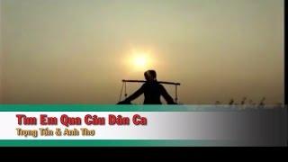 [Karaoke] Tìm Em Qua Câu Dân Ca (SC) - Trọng Tấn_Anh Thơ (Beat HD)