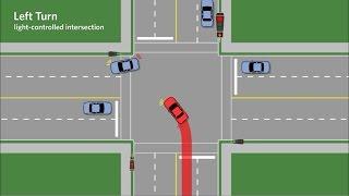 Hướng dẫn xi-nhan + rẽ trái khi lái xe qua giao lộ an toàn - Hà Thành Auto