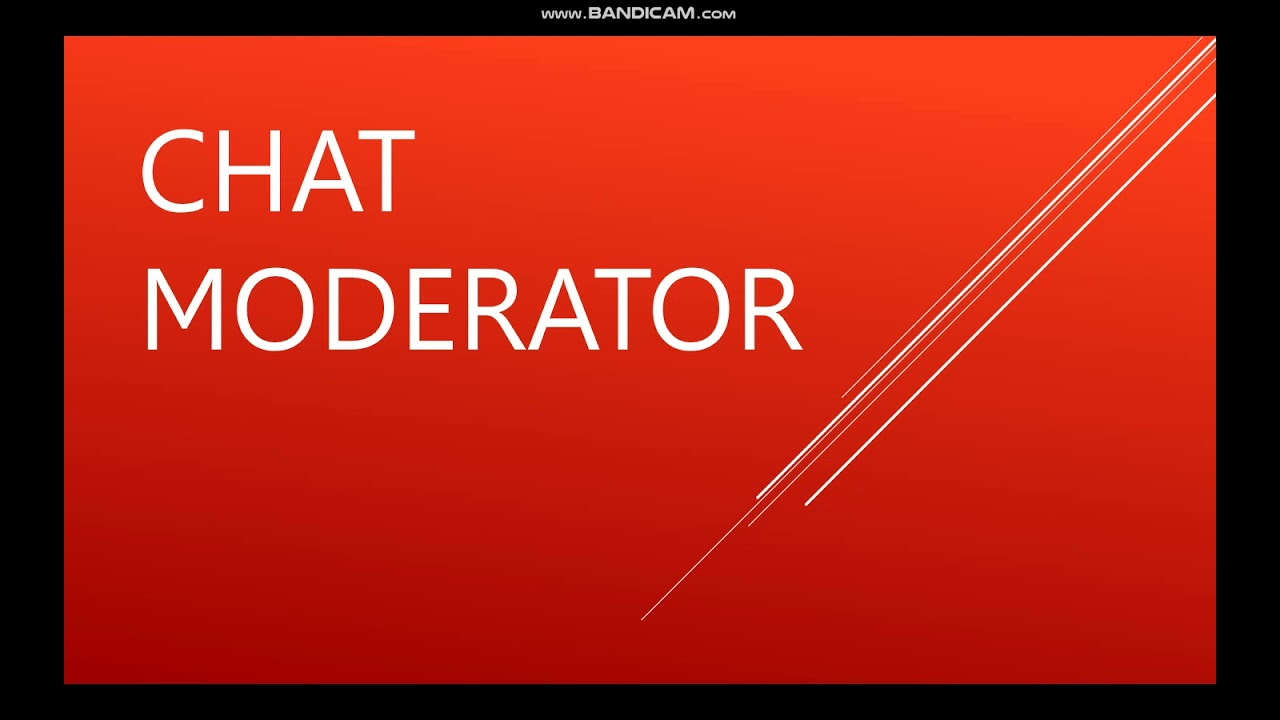 Moderator Dating Site