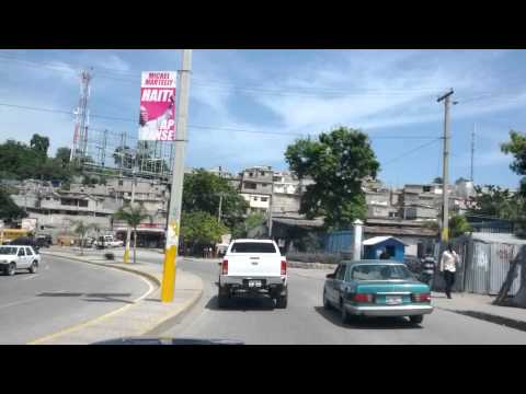 Port au Prince Haiti - Route de l'aeroport - Part 1
