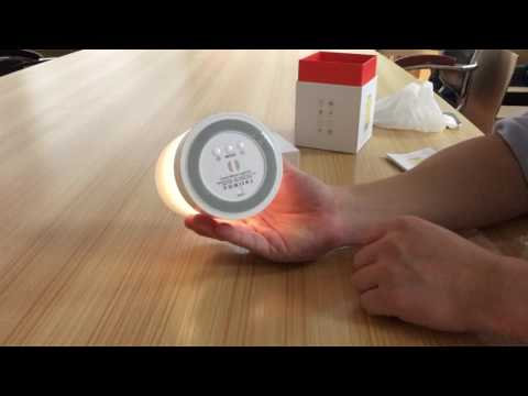 L7 Bedside Lamp Touch Sensor Color Changing White Table LED Lamp