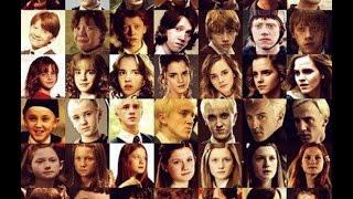 Как взрослели персонажи Гарри Поттера