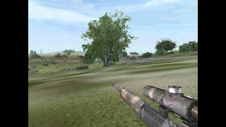 Operation Flashpoint: Cold War Crisis sniper gameplay
