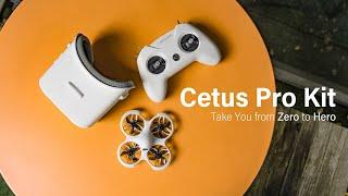 Vidéo: BetaFPV Cetus Pro FPV Kit