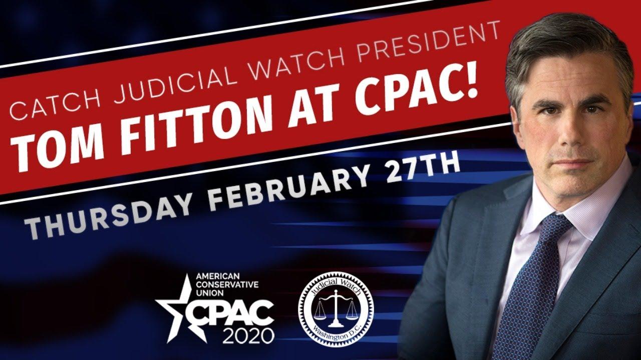 LIVE: CPAC 2020 (February 27)