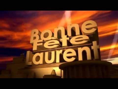 Carte Bonne Fete Laurent.Bonne Fete Laurent