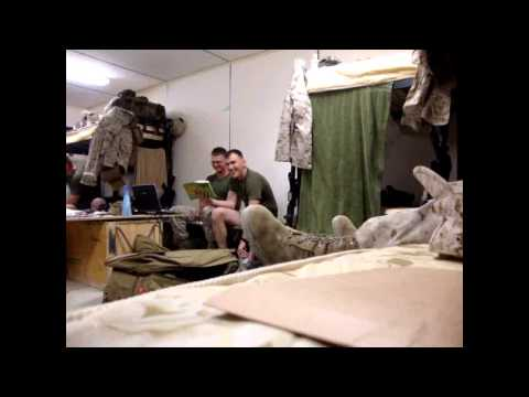 A very vulgar song made by Marines in Afghanistan, but it is very funny!