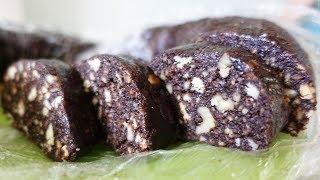 Рецепт!! Шоколадная колбаса из детства :) #40