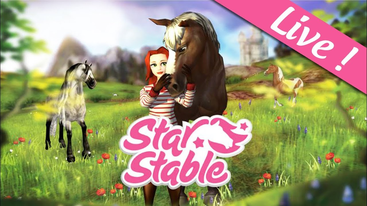🔴 Star Stable : petit délire avec les modératrices