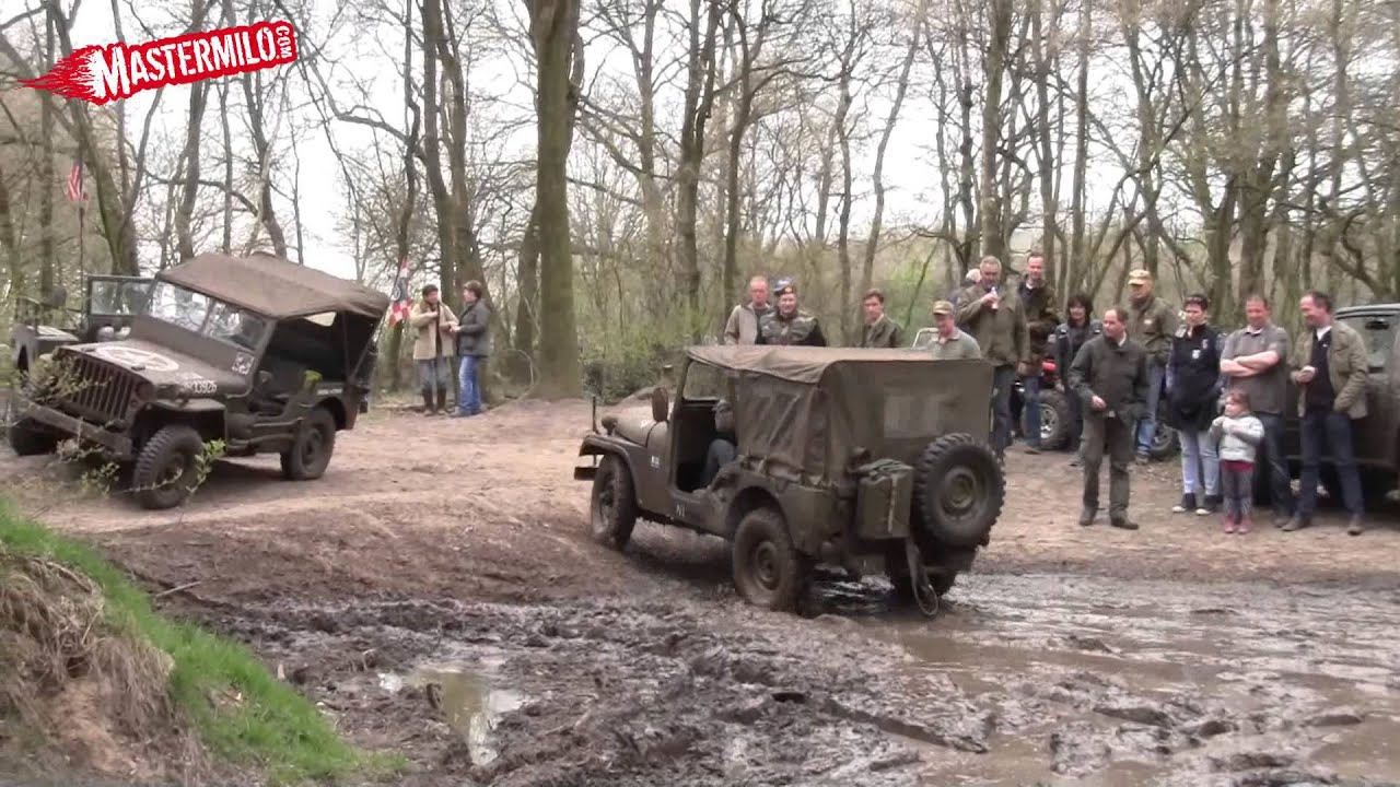 Willys Jeep Mudding Youtube