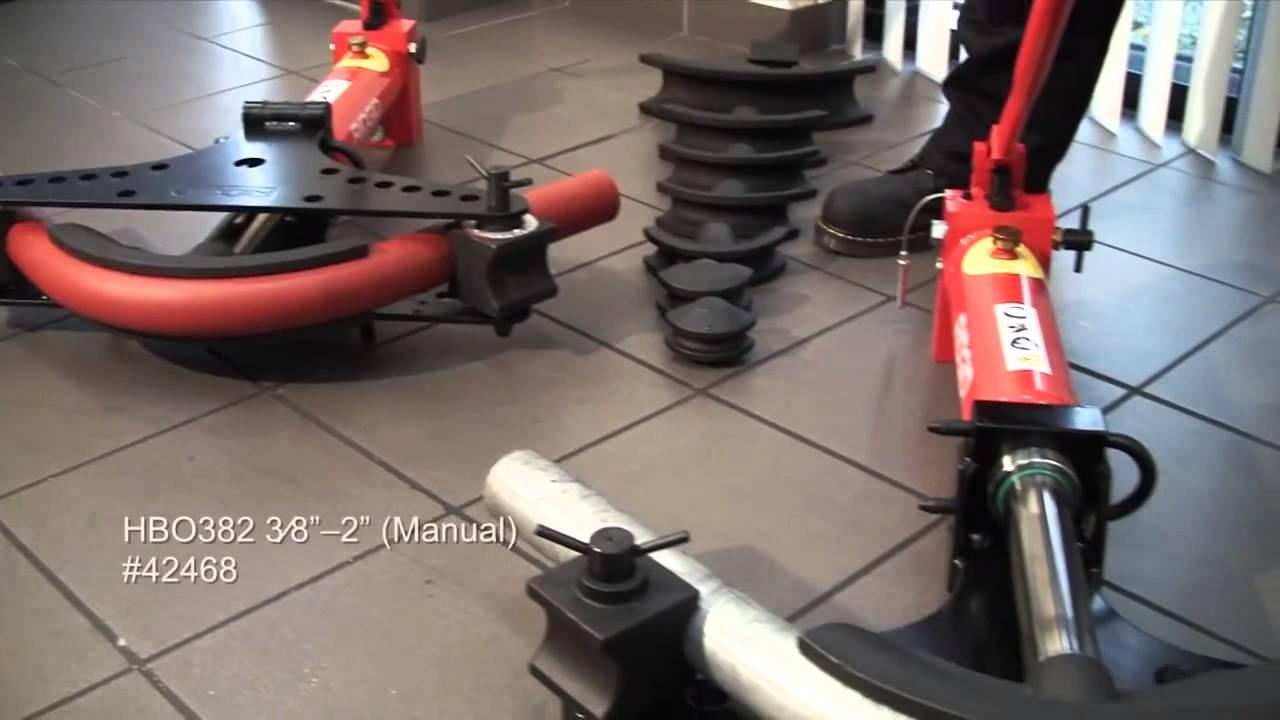 RIDGID Hydraulic Pipe Benders