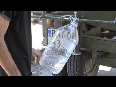 Mobilna vodonoska v Simeonovgrad