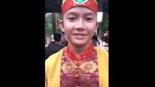 """Ahmad Ridho""""Raden Walangsungsang"""" Say Hello REKSUS GALANG"""