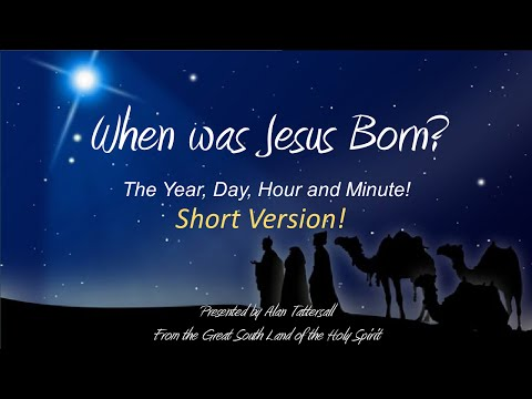 Birth Date of Jesus is Written Precisely in the Holy Bible!