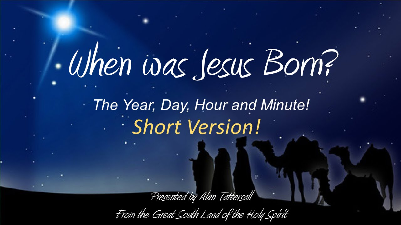 Birth Date Of Jesus Is Written Precisely In The Holy Bible