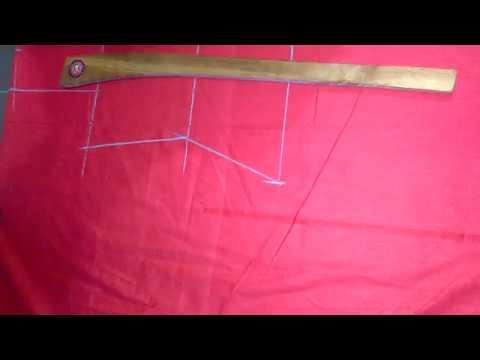 पंजाबी ड्रेस कटिंग मराठी PERFECT PUNJABI DRESS CUTTING VIDEO