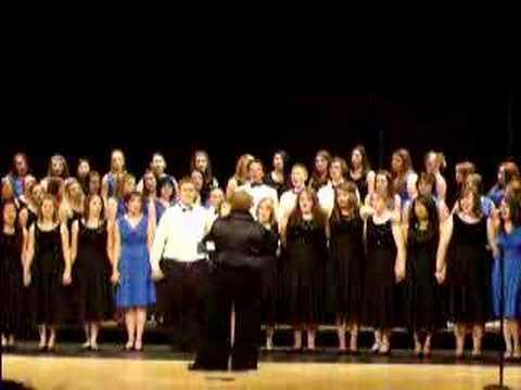 Cousino High School singing Dare to Dream
