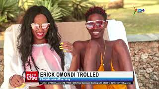 #Erick Omondi Trolled after controversial nude video
