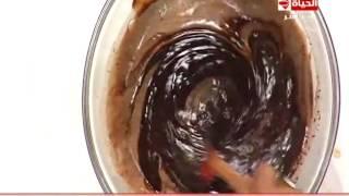 طريقة عمل تورتة كرات الشيكولاتة