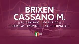 Serie A1F [14^]: Brixen - Cassano Magnago 24-16