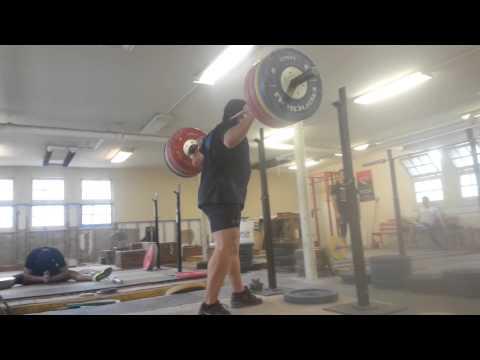 Kevin Holbrook 190kg/418lbs squat