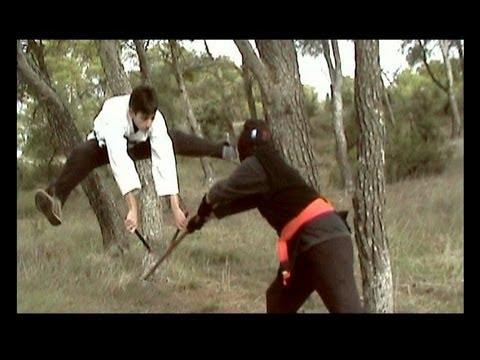 Los Tres Dragones De Occidente Al Vs Ninja Fight Episode 3 Youtube
