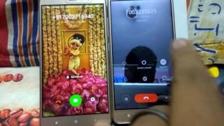 Redmi note3 video call