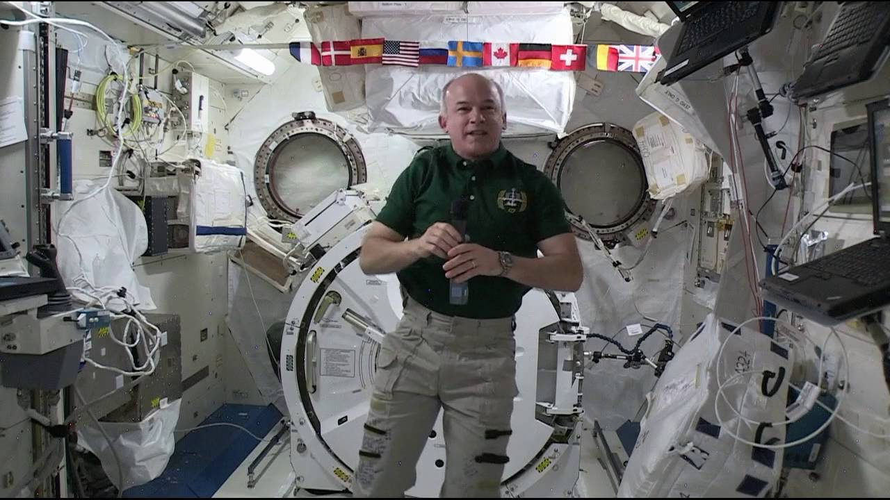 NASA Astronaut Shares Thoughts on Space Station Mission ...