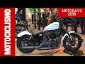 Harley-Davidson Sportster Iron 1200 2018 ? Roma Motodays 2018 - Motociclismo