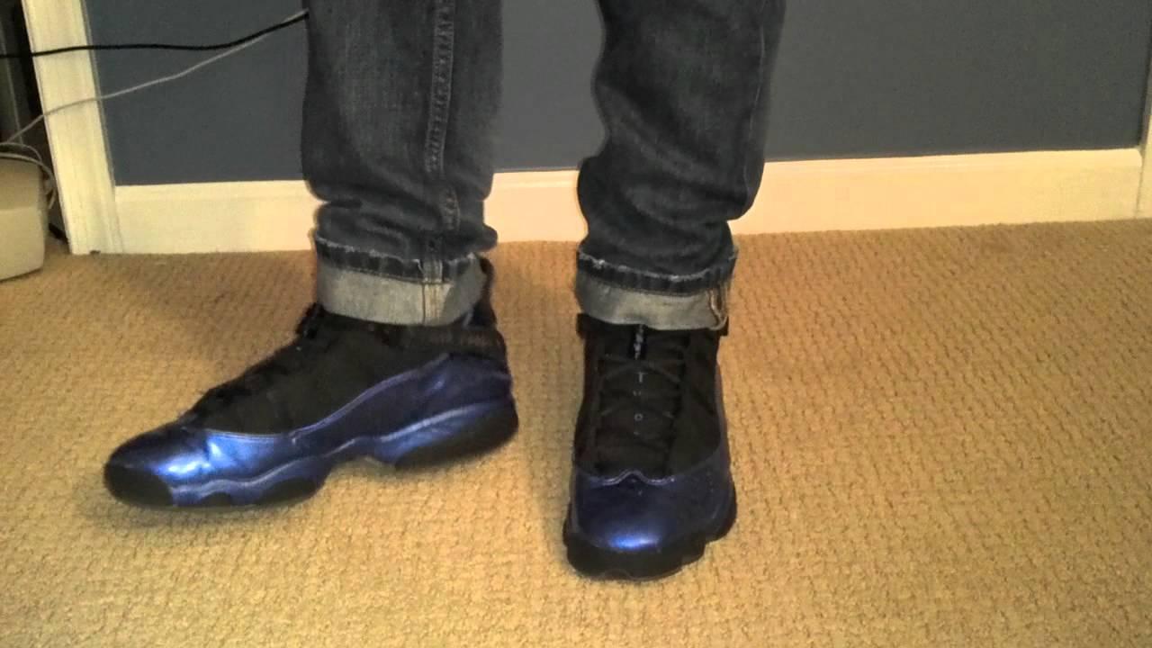 huge selection of 14e4e cc272 Air Jordan 6 Rings On Feet
