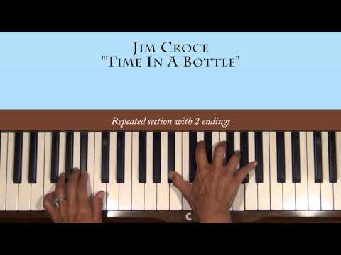Jim Croce Time In A Bottle Piano Tutorial