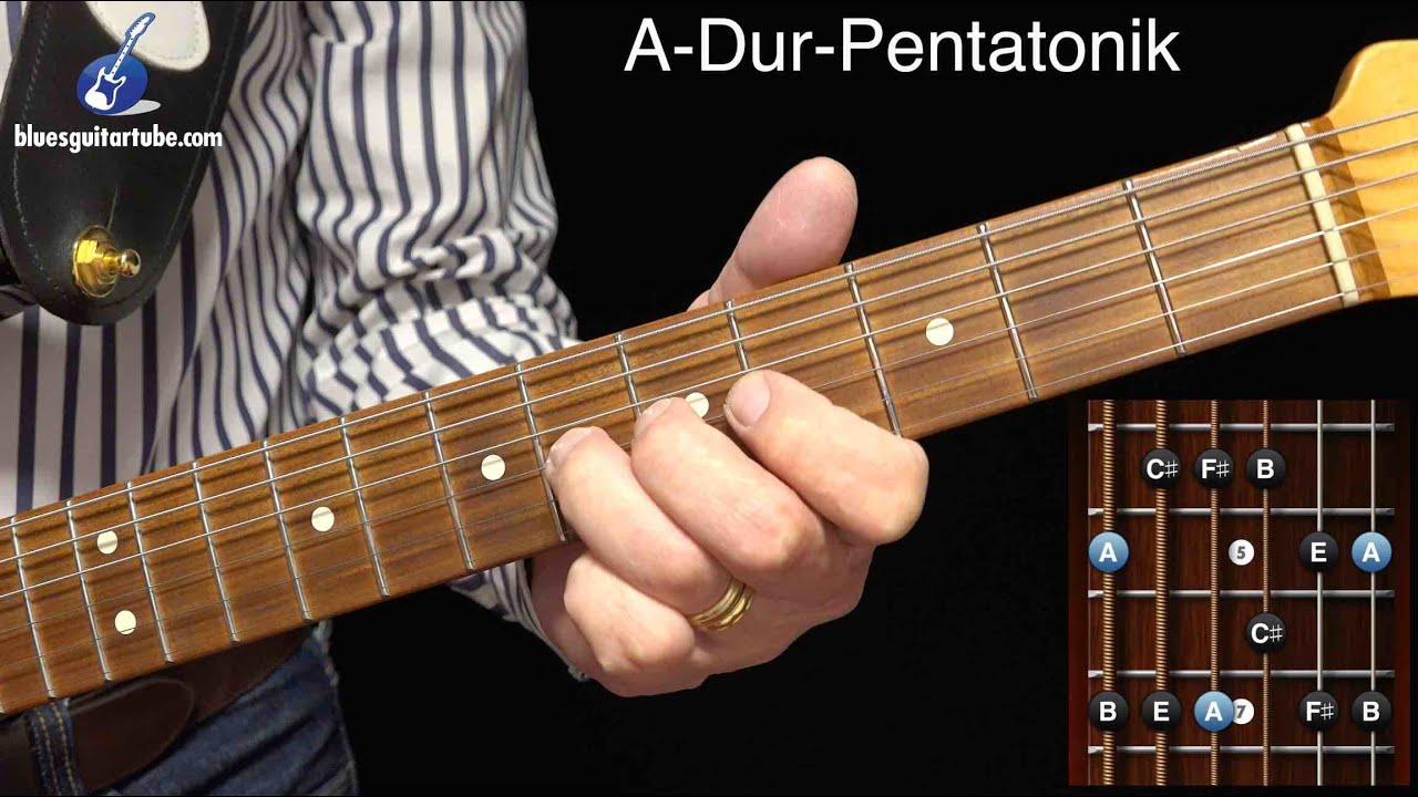 Die Dur-Pentatonik in der Blues Improvisation - YouTube