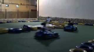 Chloe Go Karting in Majorca Cala Bona