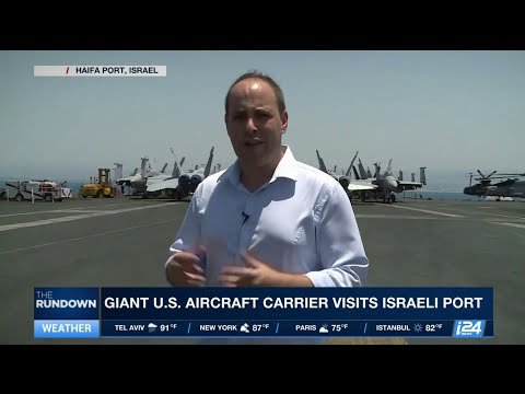 Super Carrier  Deepening the U S    Israel partnership on the deep seas