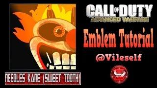 Advanced Warfare Emblem Tutorial: Needles Kane (Sweet Tooth)