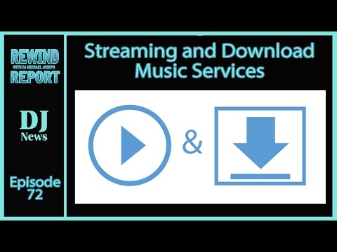 DJ Music Streaming And Downloading Music Pools | The Rewind Report | #DJNTV