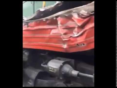 Грузовик попал под поезд в Миньяре