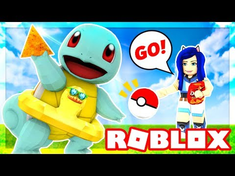 BECOMING A POKEMON TRAINER IN ROBLOX!