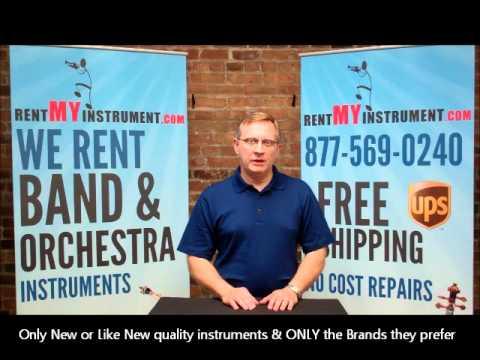 586 Nationwide Band Directors set Musical Instrument preferences on rentMYinstrument