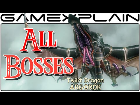 All Boss Fights in Zelda: Twilight Princess HD (Boss Battles - 1080p Wii U)