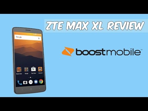 ZTE Max XL Review Boost Mobile HD