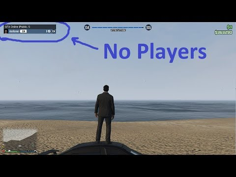 GTA 5 Online: How to be Alone in a Public Session - (GTA 5 Online Public  Session Alone)