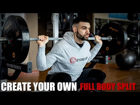 Create Your Own Full Body Workout | 3 Day Workout Split