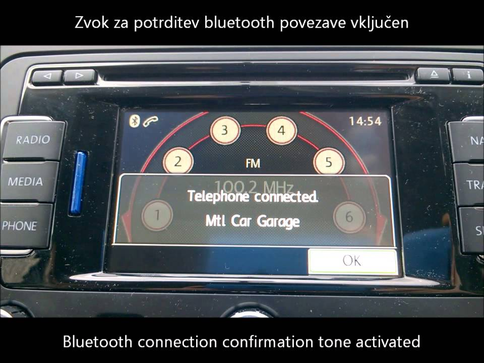 vw golf 6 plus my2012 bluetooth confirmation tone. Black Bedroom Furniture Sets. Home Design Ideas