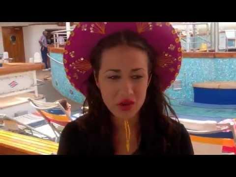 Miranda On Disney Cruise Youtube